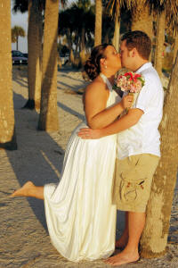 Get Married on the Sandy Clearwater Beach in FL