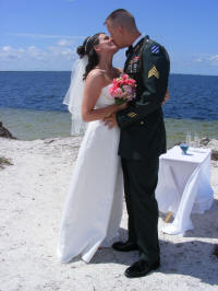 Military Wedding at Clearwater Beach